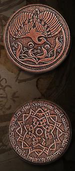 LEGENDARY COINS - Elven Coin Copper (1stk)