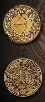 LEGENDARY COINS - Elven Coin Gold (1stk)