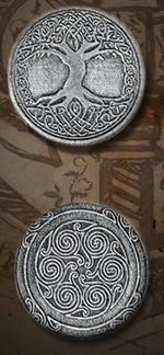 LEGENDARY COINS - Elven Coin Silver (1stk)