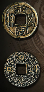 LEGENDARY COINS - Far East Coin Gold (1stk)