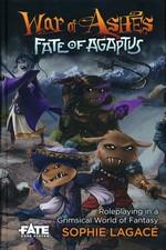 FATE CORE - War of Ashes - Fate of Agaptus Core Rules Hardcover (inc. PDF)