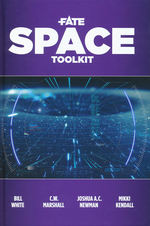 FATE CORE - Space Toolkit Hardcover  (inc. PDF)
