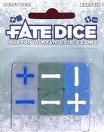 TERNINGER - FATE DICE - Frost Dice