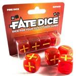 TERNINGER - FATE DICE - Fire (4)