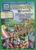 CARCASSONNE - DANSK - Bridges, Castles and Bazars (danske regler)