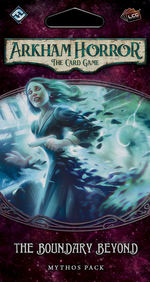 ARKHAM HORROR LCG - Forgotten Age Cycle 2 - Boundary Beyond Mythos Pack