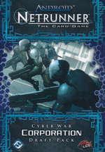 ANDROID NETRUNNER LCG DRAFT - Cyber War Corporation Draft Pack (POD) - KRÆVER DRAFT STARTER! - TILBUD (så længe lager haves, der tages forbehold for udsolgte varer)