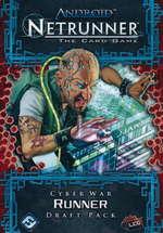 ANDROID NETRUNNER LCG DRAFT - Cyber War Runner Draft Pack (POD) - KRÆVER DRAFT STARTER! - TILBUD (så længe lager haves, der tages forbehold for udsolgte varer)
