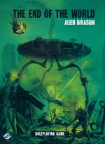 END OF THE WORLD - Alien Invasion Hardcover