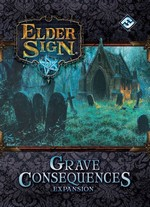 ELDER SIGN - Grave Consequences Expansion - TILBUD (så længe lager haves, der tages forbehold for udsolgte varer)