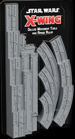 STAR WARS X-WING 2ND EDITION - Deluxe Movement Tools and Range Ruler