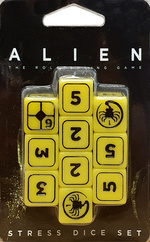 ALIEN - Stress Dice