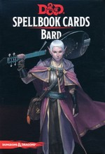 DUNGEONS & DRAGONS NEXT (5TH ED.) - DECKS - Bard Spellbook Cards (128)