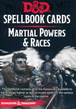 DUNGEONS & DRAGONS NEXT (5TH ED.) - DECKS - Martial Powers & Races Spellbook Cards (61)