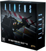 ALIENS BOARDGAME - Get Away From Her You B###h! Expansion