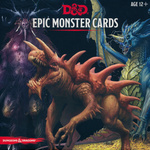 DUNGEONS & DRAGONS NEXT (5TH ED.) - DECKS - Epic Monster Cards (77 oversized cards)