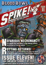 BLOOD BOWL SPIKE! THE FANTASY FOOTBALL JOURNAL - 11
