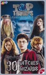 TOP TRUMPS - Harry Potter - 30 Witches & Wizards