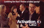 MURDER MYSTERY PARTY GAME - Murder Mystery Activation Card