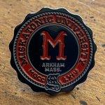 LOVECRAFT - CALL OF CTHULHU - Miscatonic University Pin