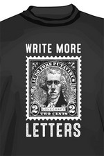 T-SHIRTS - LOVECRAFT - CALL OF CTHULHU - Write More Letters (XL)