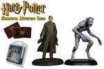 HARRY POTTER MINIATURES ADVENTURE GAME - Remus Lupin & Werewolf Form 2-pack - TILBUD (så længe lager haves, der tages forbehold for udsolgte varer)