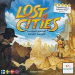 LOST CITIES - Lost Cities The Card Game (Dansk, Svensk, Norsk og Finsk)