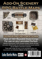 BATTLEMATS - LOKE - Add-On Scenery for RPG Battle Maps - Dungeon Decorations