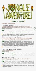 PARSELY - Parsely #2 - Jungle Adventure  (indie produkt) - TILBUD (så længe lager haves, der tages forbehold for udsolgte varer)