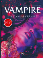 VAMPIRE THE MASQUERADE 5TH EDITION - Vampire The Masquerade: 5th Edition Core Rulebook Hardcover