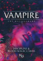 VAMPIRE THE MASQUERADE 5TH EDITION - Discipline and Blood Magic Card Deck