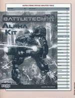 BATTLETECH NY UDGAVE - Alpha Kit