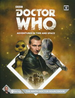 DOCTOR WHO - ADVENTURES IN TIME AND SPACE - Ninth Doctor Sourcebook Hardcover (inc. PDF) - TILBUD (så længe lager haves, der tages forbehold for udsolgte varer)
