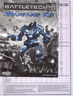 BATTLETECH NY UDGAVE - Warfare Kit