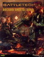 BATTLETECH NY UDGAVE - Record Sheets 3060 - TILBUD (så længe lager haves, der tages forbehold for udsolgte varer)