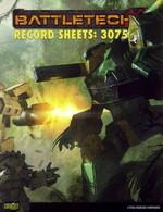 BATTLETECH NY UDGAVE - Record Sheets 3075 - TILBUD (så længe lager haves, der tages forbehold for udsolgte varer)