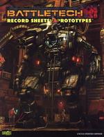 BATTLETECH NY UDGAVE - Record Sheets Prototypes