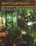 BATTLETECH NY UDGAVE - Masters & Minions Starcorps Dossiers