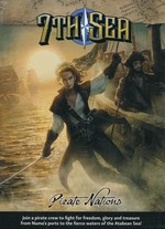 7TH SEA 2ND EDITION - Pirate Nations Hardcover