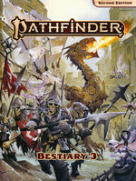 PATHFINDER 2ND EDITION - Bestiary 3 Hardcover