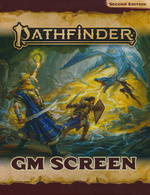 PATHFINDER 2ND EDITION - GM Screen