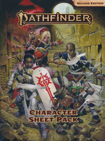 PATHFINDER 2ND EDITION - Character Sheet Pack