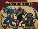 PATHFINDER 2ND EDITION - BATTLE CARDS - Bestiary 1 Battle Cards