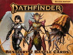 PATHFINDER 2ND EDITION - BATTLE CARDS - Bestiary 2 Battle Cards
