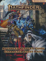 PATHFINDER 2ND EDITION - Advanced Player`s Guide - Character Sheet Pack