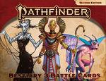 PATHFINDER 2ND EDITION - BATTLE CARDS - Bestiary 3 Battle Cards