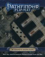PATHFINDER - FLIP MAT - Wizard`s Dungeon - TILBUD (så længe lager haves, der tages forbehold for udsolgte varer)