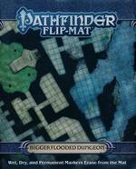 PATHFINDER - FLIP MAT - Bigger Flooded Dungeon