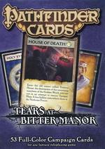 PATHFINDER - DECK - CAMPAIGN CARDS - Tears at Bitter Manor - TILBUD (så længe lager haves, der tages forbehold for udsolgte varer)