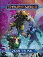 STARFINDER - Alien Archive 4 Hardcover